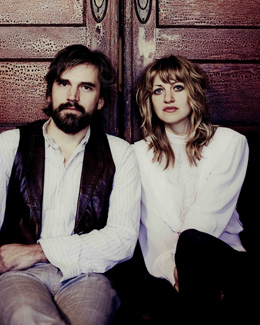 Anais Mitchell and Jefferson Hamer