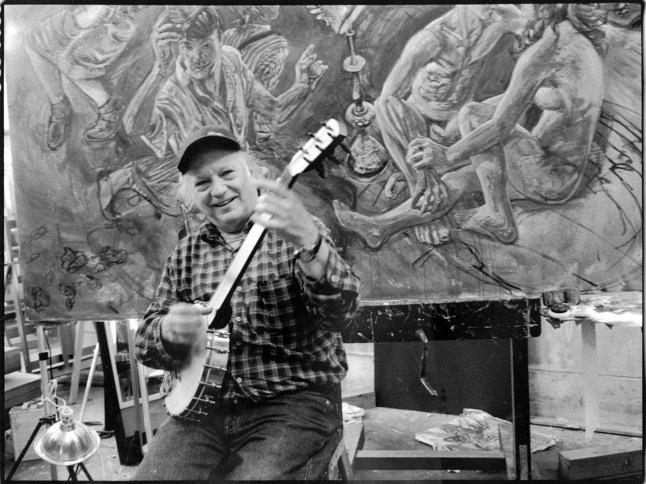 Old time mountain banjo art rosenbaum